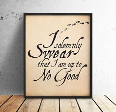 I Solemnly Swear I am up to No Good, Harry Potter, Harry Potter Poster, Marauders Map, Harry Potter PRINTABLE, 10x8 Digital Download by off2market on Etsy
