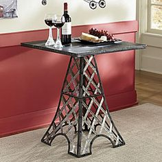 Charmant Metal End Table With Latticed Legs Inspired By The Base Of The Eiffel Tower.  $129 On Joss U0026 Main | Home Imagination | Pinterest | Tower, Room And  Daughters ...