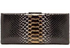 Nancy Gonzalez Python Cigarette Case Clutch Originally $3550 #NancyGonzalez #Clutch