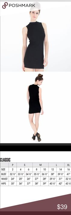 Moro Mini Black Cocktail Dress Gorgeous little black dress. Everyone needs one! Atid Clothing Dresses