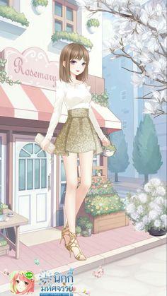 Fashion Games, Fashion Outfits, Anime Girl Pink, Nikki Love, Cute Anime Character, Beautiful Fantasy Art, Anime Dress, Anime Scenery, Anime Outfits