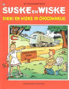 1946, het eerste verhaal (heruitgave):Rikki en Wiske in Chocowakije/ W. Vandersteen, 1975.