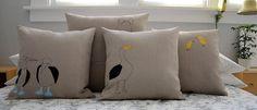 k studio — galapagos albatross pillow