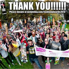Big love to everyone who came to the #bristolboardmeeting last weekend! Loads of money raised so far and more coming in, please get your donations in to www.justgiving.com/lushlongboards2015 #skateanddonate  See you next year!!