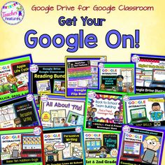 Google Drive resources for Google Classroom or any digital device.