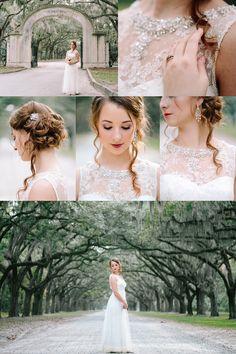 Krista Lajara Photography | www.kristalajara.com | Bridal Session at Wormsloe Historic Site in Savannah, GA