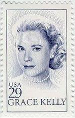 Grace Kelly - USA Stamp