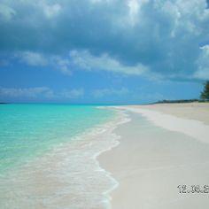 Tropic of Cancer Beach, Great Exuma,Bahamas