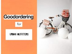Lookbook for GoodOrdering launching within Urban Outfitters. Page 1&2