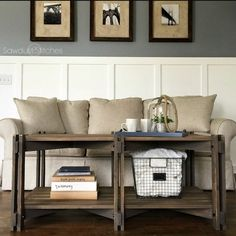 Full build plans so that you can make your own Rustic Farmhouse Coffee Table