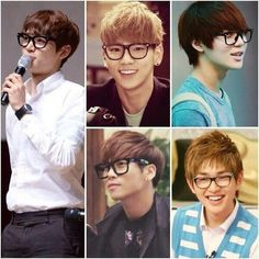 SHINee gözlüklerle ayrı bir mükemmel ~~ gözlük almalıyım  SHINee is perfect with glasses ı must buy glasses ~~   #SHINee #Minho #Key #Taemin #Jonghyun #Onew
