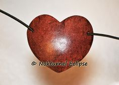 SMALL Mahogany Heart-Shaped Leather Eye Patch Steampunk Pirate Halloween Cosplay Costume Renaissance Anime Eye Wear Unisex - 2 INCHES TALL by NokturnelEclipse on Etsy