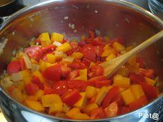 Pompoen-paprika-tomaten-soep