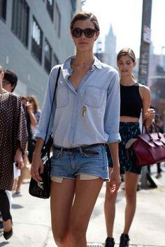 Model street style at New York fashion week spring/summer '15 gallery - Vogue Australia