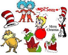 Dr. Seuss svg