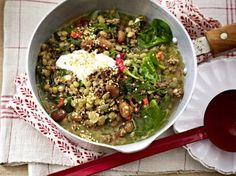 Benefits of Camping Food Stands, Tasty, Yummy Food, Cupcake Recipes, Palak Paneer, Soups And Stews, Lentils, Food Inspiration, Cobb Salad