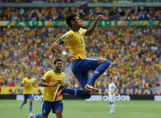 Check score of Brazil vs Croatia,Brasil Beats Croatia In FIFA World CUP 2014 Opener, Neymar Shines for Brazil Neymar Goal, Neymar Pic, World Cup 2014, Fifa World Cup, Summer Games, Croatia, Olympics, Brazil, Soccer