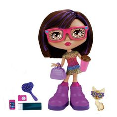 -Chatsters - Abigail Interactive Doll, Walmart Exclusive- Abby is an electronic doll that will talk to you with a free chatsters app for apple devices only, and more.