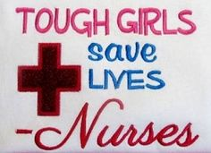 Tough Girls Nurses Applique - 5 Sizes! | What's New | Machine Embroidery Designs | SWAKembroidery.com Band to Bow