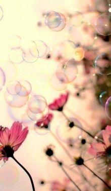 Bubbles and Flowers...k karino amo?era anke x me?ma...t meriti tanti bacini