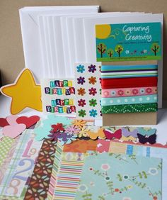 girls card making kit