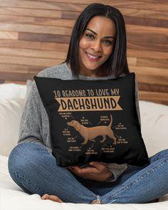 10 Reasons To Love Dachshund Best Dog - Black funny dachshund, puppy corgi, dachshunds #dachshundappreciation #sausagedogcentral #dogsofinstaworld, dried orange slices, yule decorations, scandinavian christmas Funny Dachshund Pictures, Dachshund Quotes, Dachshund Shirt, Dachshund Gifts, Cute Puppy Pictures, Dog Shirt, Dachshund Tattoo, Dapple Dachshund Puppy, Black Dachshund