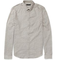 Burberry Prorsum Slim-Fit Printed Cotton Shirt | MR PORTER