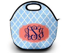 Lunch Bag for Women | Design Your Own | Lunch Bag | Neoprene by SassySouthernGals now at http://ift.tt/2CRlICC