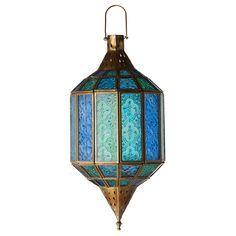 Image result for lanterns blue glass