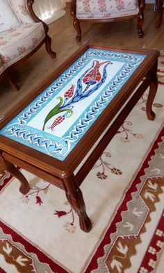 New Furniture, Filigree, Table, Hand Painted, Ceramics, Ornaments, Antiques, Handmade, Painting