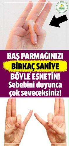 Başparmağınızla yüzük parmağınızı birkaç saniyeliğine böyle esnetin. Sebebini ise çok seveceksiniz! #parmak #esnetme #sağlık #pratikbilgiler