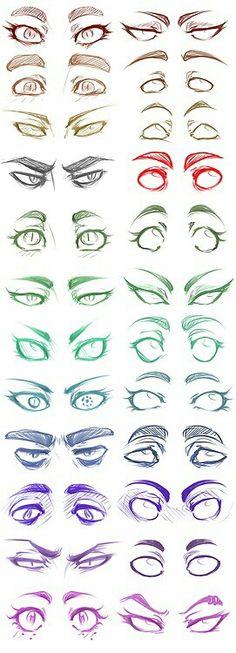 Ojos. / Eyes.