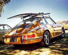 Porsche 911 Surf Beach Zwart
