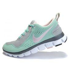 timeless design cef05 ea908 Nike Free Run 5.0 Runing WMN Shoes Gray Jade Green
