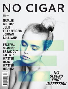 No Cigar, Issue 4/2014 | Magazine Cover: Graphic Design, Typography, Photography |
