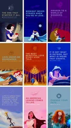 Disney Princesses  1937-2012