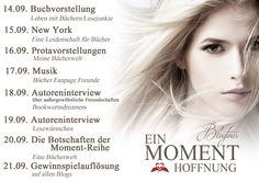"""Gewinnerbekanntgabe zur Blogtour """"Ein Moment Hoffnung"""""""