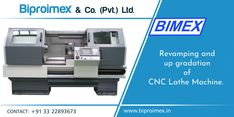 Biproimex- Best quality CNC Lathe Machines in Kolkata. If you want to buy it, Then contact here.