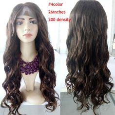 Find More Human Wigs Information about Top Quality 200 Density Full Lace Wig Natural Virgin Color Unprocessed Brazilian Human Hair Silk Straight 200% Lace Front Wigs,High Quality hair wigs black women,China wigs for white women Suppliers, Cheap hair color wigs from xcsunny wigs on Aliexpress.com