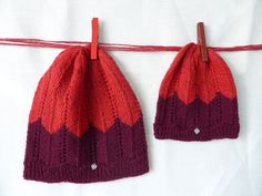 Mommy and me Mom and baby matching knit hats set of 2 baby shower gift Mom And Baby, Mommy And Me, My Mom, Mom Hats, Baby Hats, 2nd Baby Showers, Best Baby Shower Gifts, Unique Bags, Knit Hats