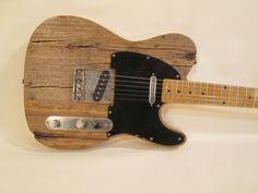 reclaimed wood telecaster - Sök på Google