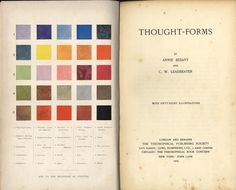 Thought-Forms by Annie Besant & C. W. Leadbeater http://perpetualcollapse.tumblr.com/post/58546352662/ekkolalia-thought-forms-by-annie-besant-c