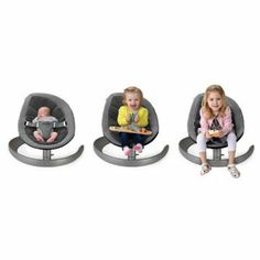 Nuna Leaf Curv Lounger Chair // A swaying seat that fits your child from infant to big-kid size (it holds up to 130 lbs!)