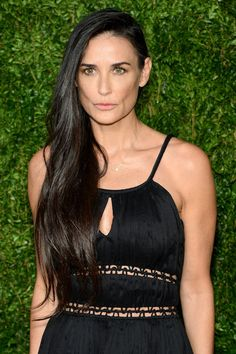 Demi moore and her luscious locks