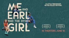 Me and Earl and the Dying Girl Full Movie for FREE#MeandEarlandtheDyingGirl #Movie #comedy #fun #drama #2015 #imdb #cinema #freetime #Pittsburgh #AlfonsoGomezRejon #ThomasMann #RJCyler #OliviaCooke #JonBernthal