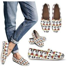 Mickey and Minnie Shoe Designs Now On Sale at FluffyKicks