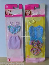Mattel Barbie Doll Clothes Lot - Sun & Sea Fashion Favorites NEW MINT in Package