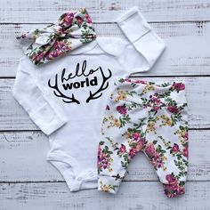 baby girl coming home outfit baby girl outfit newborn girl going home from hospital outfit, take home outfit, baby girl clothes by EatSleepDrool on Etsy https://www.etsy.com/ca/listing/486248669/baby-girl-coming-home-outfit-baby-girl