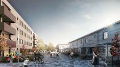 Housing   Finland   2015 Arch. Raluca Munteanu - Exterior - Housing - Office Building