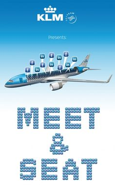 We love this idea! KLM wants to seat passengers based on their linked-in & facebook profiles /Oh for Pete's sake.